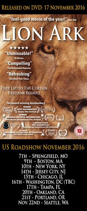 Lion Ark DVD poster